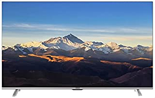 Tornado 55 Inch 4K UHD Smart Android Frameless LED TV with Remote Control and Wifi Connection - 55UA1400E