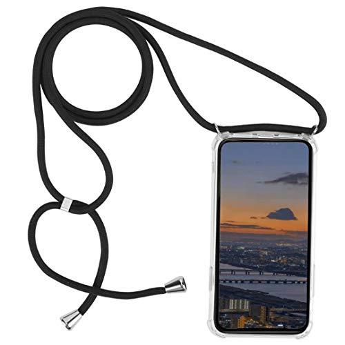 DigerUK Funda para Compatible with Motorola G5S Plus Suave TPU Caucho de Silicona Case con Correa Colgante Ajustable.