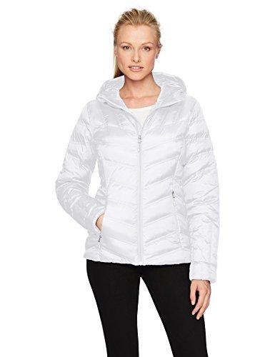 Spyder Damen Jacke GEARED HOODY, 100 White, M (333), 878027