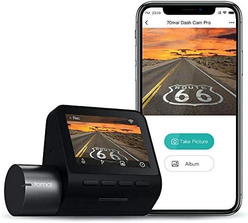 70mai 2K Car Camera 1944p Smart Dash Cam Pro 2 5K Sony IMX335 2592x1944 WiFi Dash Camera for product image