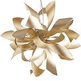 Lampadario a Sospensione Oro decoro Moderno Alluminio G9 Ambiente I-BLOOM-S6