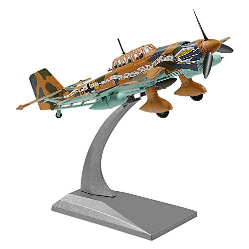 1/72 Scale Germany Junkers Ju 87 Fighter Attack Plane Metal Fighter Military Model Fairchild Republic Diecast Plane Model for Commemorate Collection
