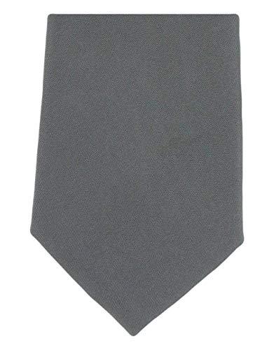 Michelsons of London Cravate simple gris soie de