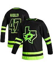 NHICR Rȧdụlȯv Stȧrṡ Hombre Hockey sobre Hielo Jersey Sportswear de Manga Larga Sudaderas Fan Camisetas, Deportes Fitness Ropa Hockey Equipo Juego Jerseys XL