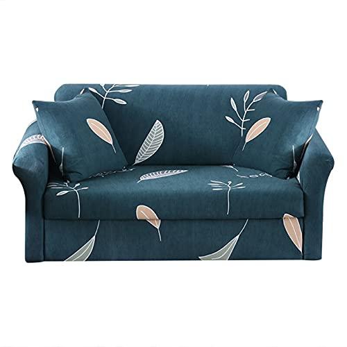 WXQY Funda de sofá elástica, Funda de sofá Universal Antideslizante para Todas Las Estaciones, Funda de sofá de Esquina en Forma de L para Sala de Estar A14 2 plazas