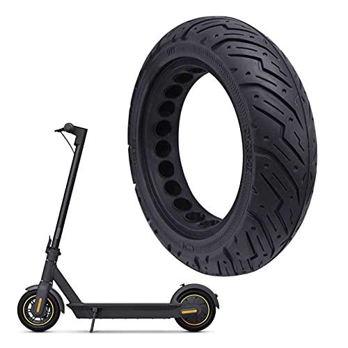 GYAM Neumáticos de Nido de Abeja Huecos de 10 * 2,5 compatibles con neumáticos de Nido de Abeja 60/70-6,5 Neumáticos sólidos Inflables Gratis Durables Resistentes a Perforaciones