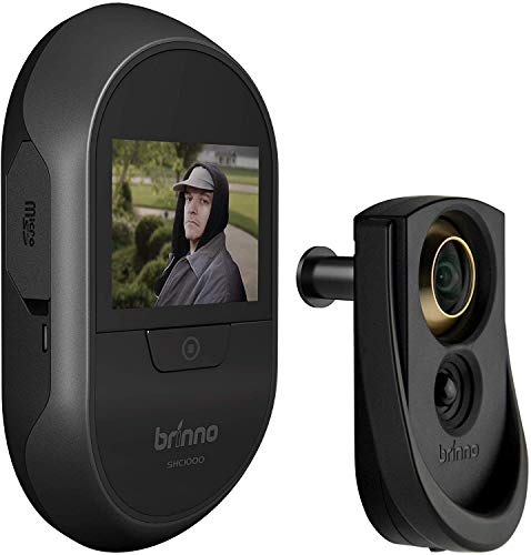 Brinno Front Door Peephole Security Camera- Motion Detection - Knocking Sensor- Easy to Install-...