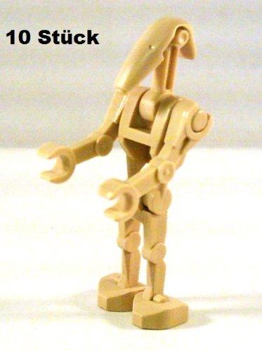 LEGO Star Wars Figuren: 10 Stück Standard Kampf Droide / Battle Droid, eine kleine Armee!