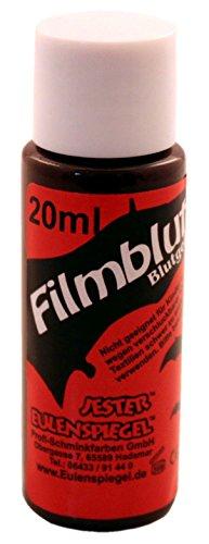 Eulenspiegel 405079 - Filmblut dunkel, 20 ml, Kunstblut für Spezialeffekte