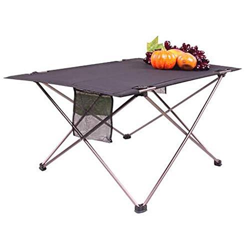 LIYG Table De Pique-Nique Portable, Table Console en Alliage D'aluminium, Bureau De Lit |Plateau De Petit Déjeuner
