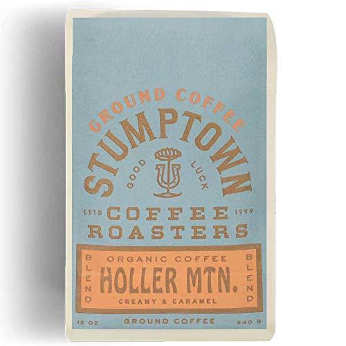 Stumptown Coffee Roasters Holler Mountain Ground Organic Coffee, 12 Oz Bag, Flavor Notes Of Creamy Caramel