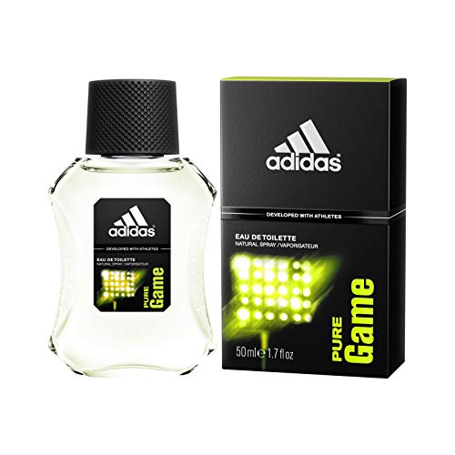 adidas Pure Game Eau De Toilette 100 ml, 1er Pack (1 x 100 ml)