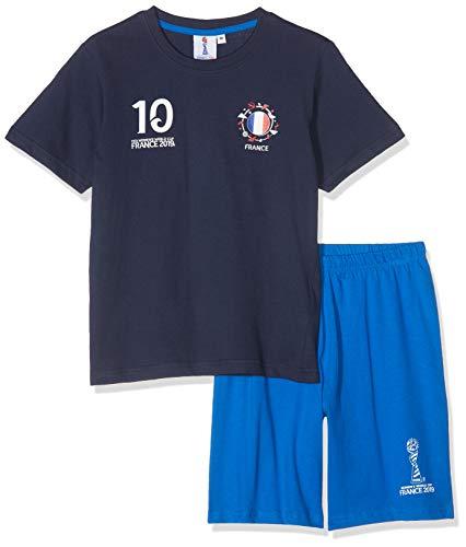 Fifa 2019TM set van pyjama kort + T-shirt jongens
