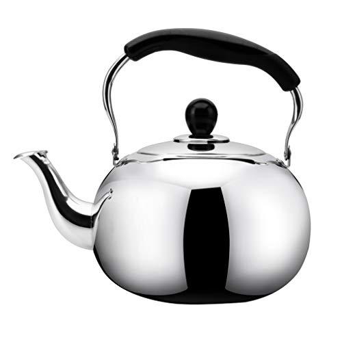 En acier inoxydable 304 haute qualité Whistle sur la cuisinière bouilloires 4L / 5L Ménage cuisinière à induction cuisinière à gaz universel (taille : 5L)