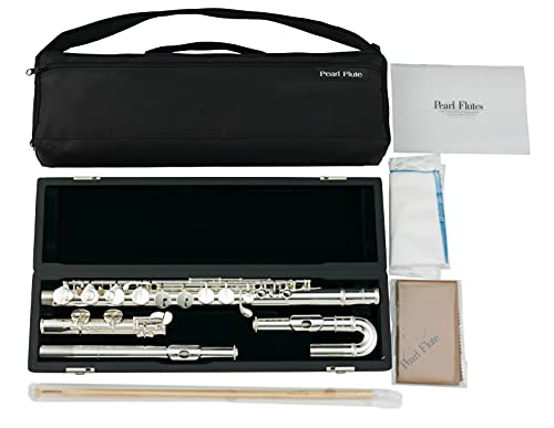 Pearl PFA201SU Alto Harmony Flute, Straight and Curved Headjoints