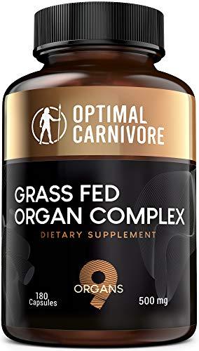 Desiccated Beef Organs, Grass Fed Organ Complex - Beef Liver, Brain,...