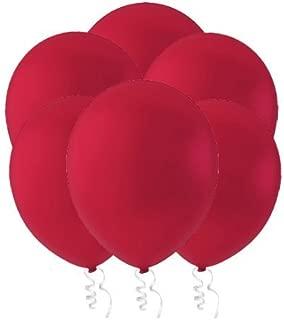 red chrome balloons