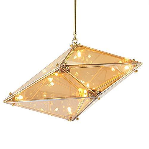 Hanglamp Strenge kwaliteitscontrole cm Cognac kroonluchter moderne kunst vaardigheid diamant restaurant complexe procedure plafondlamp