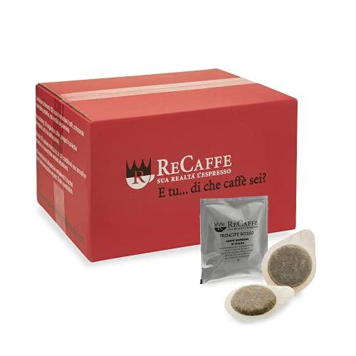 RECAFFE - ESE 44 vaina, paquete de 150 vainas envueltas individualmente Principe Rosso sabor fuerte y decisivo