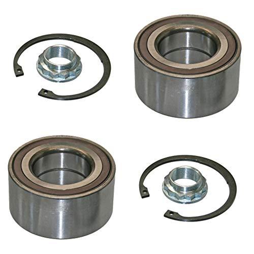 2x Radlager mit integriertem magnetischem ABS-Sensor Hinterachse links rechts