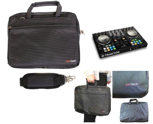 Navitech schwarzes DJ Controller Case/Tasche für das Vestax VCI 380