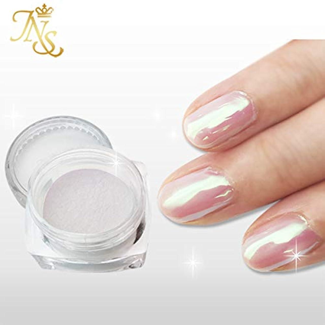 ジャパンネイル オーロラシェルパウダー ピンク真珠