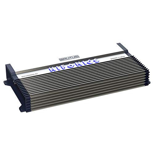 Best Bargain Hifonics BXX2000.1D Brutus Class D 2000W RMS 1 Ohm Mono Car Subwoofer Amplifier