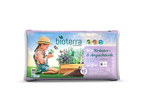 DHG BIOTERRA Bio Kräuter- & Anzuchterde torffrei 15l