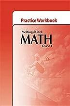McDougal Littell Math Course 1: Practice Workbook