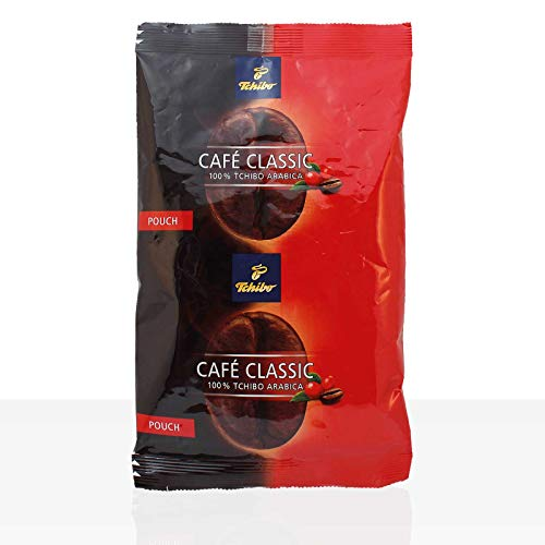 Tchibo Cafe Classic elegant Kaffee Pouch 36 x 65g Filterbeutel ganze Kanne Café
