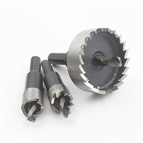 ooege Drill Bit Holesaw Soft Metal Cutter Cutting Plastic Aluminum Hole Saw Set (Hole Diameter : 65mm)