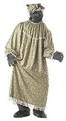 California Costumes Men's Wolf Granny Costume