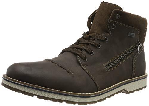 Rieker Herren Winterstiefel 39231,Männer Winter-Boots,warm,Tex-Membran,wasserfest,Moro/Moro, EU 42