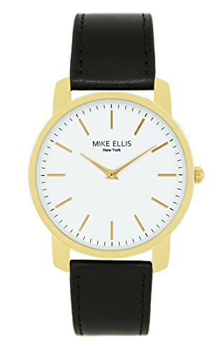 Mike Ellis New York Unisex-Armbanduhr Preppy Analog Quarz Kunstleder SM4527H8