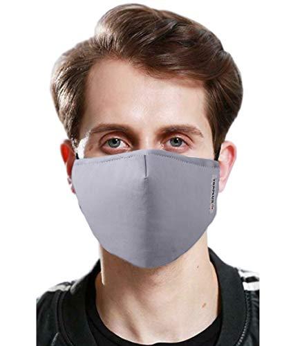 TSSPLUS PM2.5 Air Purifying Face Mask Muffle Carbon Filter Dust Haze Fog Respirator Lot