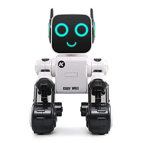 MJYY Giocattoli Educativi per Esterni , Robot Rc Telecomando Robot Intelligente Programmazione Intelligente Rilevatore Di Gesti Robot, Danza Cantando Camminando Giocattolo Rc con Batteria Ricaricabil