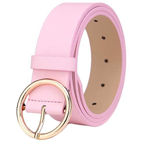 MESHIKAIER Damen gürtel rosa 105 * 3.3cm