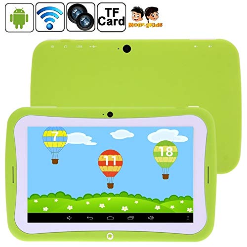 YUZEBIN 7.0 inch Android 4.2.2 Kids Education Tablet 4GB(Orange) (Color : Green)