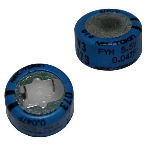 5x Goldcap Kondensator 0,22F 5,5V ; RM5 d14x14mm ; FYD0H224ZF