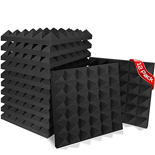 Acoustic Foam Panels,SoundProof Padding Foam Panels,2' X 12'...