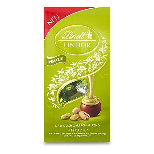 Lindt Lindor Pistazie-Milchschokoladenkugeln (ca. 10 Kugeln), 137 g