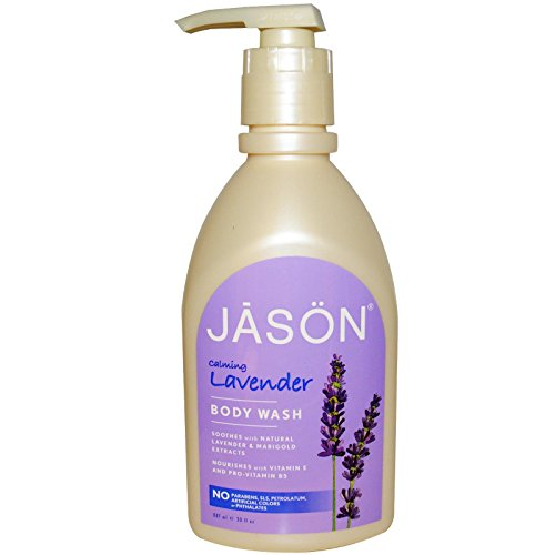 Jason Natural Products Body Wash Calmng Lavender 30 Fz