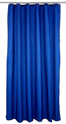 RIDDER 45343S-350 Duschvorhang Textil ca. 180x200 cm Madison königsblau