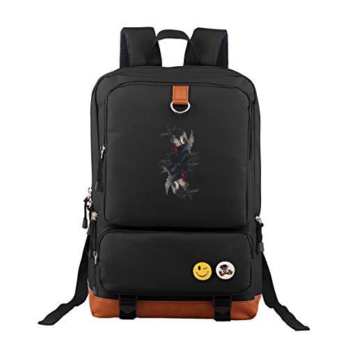 Naruto Oxford Rucksack Schulrucksack Laptoprucksack Für Herren Damen Jungen MädchenDaypacks