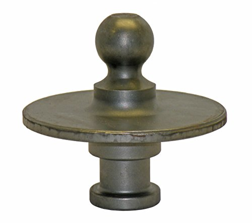 Wallace Forge Kingpin to Gooseneck Ball Adapter - Made in U.S.A.