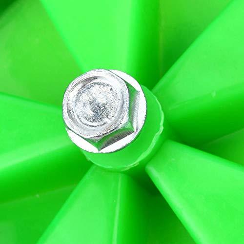 Zerone Kinder Fahrrad Stabilisatoren, verstellbar, 30,5-50,8 cm, Grün - 3
