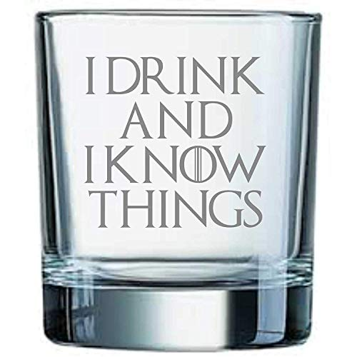 Whiskeyglas, inspiriert von Game of Thrones