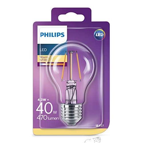 Philips Lighting Lampadina LED Classic Goccia E27, 4.3 W (40 W)