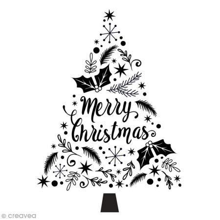 "Aladine 01736 Stempel""Merry Christmas"""