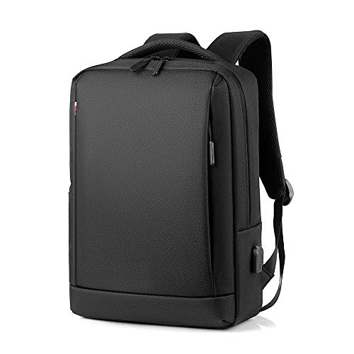 Lixibei Backpack Laptop Backpack, Camera Backpack Bag 18 X 4.3 X 12.2 Inches, Minimalist Business Backpack Suitable for 15.6-Inch Laptop,Black